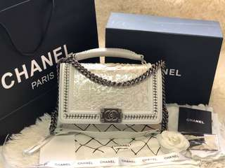 CHANEL CHAIN LEBOY Authentic quality