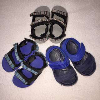 Lot of Infant / Toddler Boy's Cheap Sandals