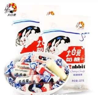 White rabbit creaming candy 114g
