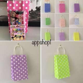 Paper bag, event door gift carrier, goody bag packages