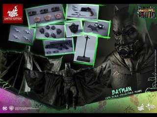 全新 未開封 Hot Toys MMS409 Suicide Squad Batman
