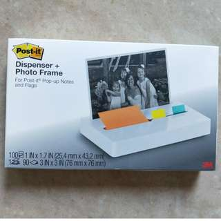 Post-it® Pop-up Note and Flag Dispenser, Photo Frame