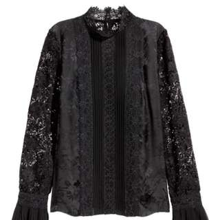 Erdem x H&M Silk Blouse *AUS 6