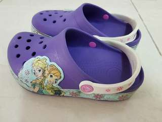 Crocs girl shoe(size-12)  Authentic