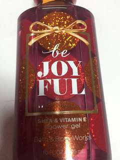 Bath & Body Works - Be Joyful - Shower Gel, Free shipping