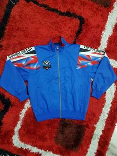Vintage 90's Asics Viento Caliente Track Top Jacket