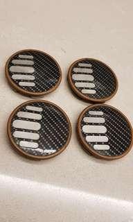Sparco Cromodora Wheel Caps