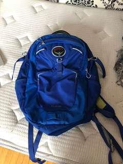 Osprey Electric Blue Flare Backpack