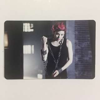 (Sold) B.A.P Zelo One shot Japan photocard pc