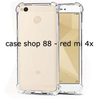 Anti Crack Case / Jelly Case Warna Bening Xiao Mi Red Mi 4X