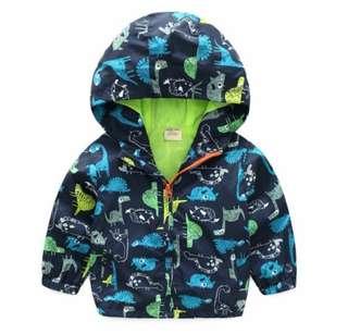 Kids coat wind clothes