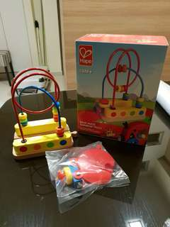 Hape bead maze toy for toddler