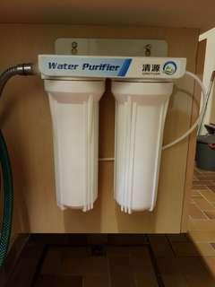 De-ionized water filter (2 stage)