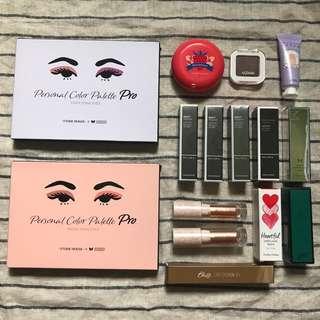 [Clearance Sales🔥] Etude House Eyeshadow Palette & Blusher, The Face Shop Lipstick, Missha Lipstick, Skinfood Lipstick, BBIA Lipstick