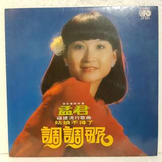 孟君 - 调调歌 Vinyl Record