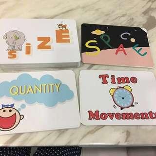 Tensai shichida flash cards