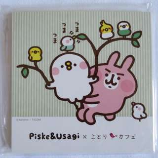 日本正版卡納赫拉Kanahei*期間限定版*便條紙 B款(共兩款)