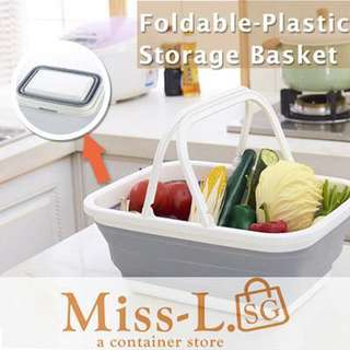🍀 FOLDABLE STORAGE BASKET