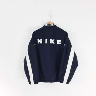 Nike Vintage Half Zip Side Pocket Windbreaker Jacket