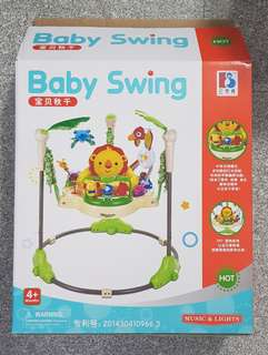 Baby swing rainforeat jumperoo(not Fisher-price)