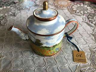 Miniature Teapot (hand painted)
