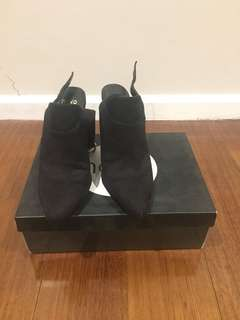 Novo Black Boot/Heels Size 8