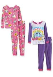 BNWT Authentic Shopkins Pajama Sleepwear