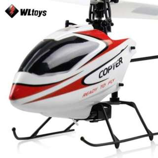 WLTOYS V911 2.4G 4CH 3-AXIS GYRO RTF REMOTE CONTROL HELICOPTER AIRCRAFT TOY