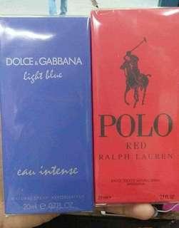 Authentic perfumes 20ml