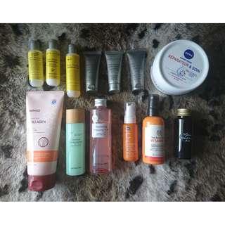 (Free postage) Boots / Body shop / Miniso / Nivea / Marini Naturalegic / Acca Kappa Skin, Bath & Body #letgo4raya