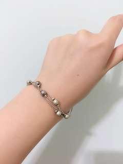 銀色手鏈 silver color bracelet