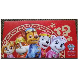 8 pcs Nickelodeon Singtel 2018 Exclusive Red Packet / Ang Pao Pau Pow Bao / Sampul Duit