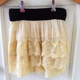 🔥清貨蝕本價!喱士短裙 lace skirt