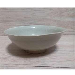 宋葵口青白瓷碗 碗內有功