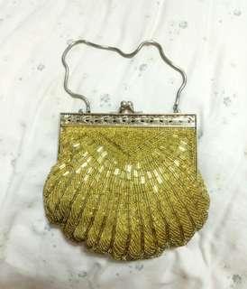 ✨古董縫珠手提包✨特價