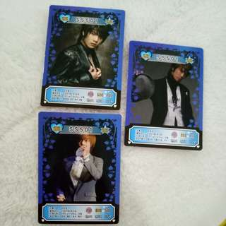 SS501 Cards