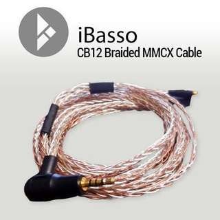 90%new IBASSO CB12 2.5mm MMCX平衡耳機升級線