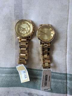 Brand New Gold Michael Kors Watches