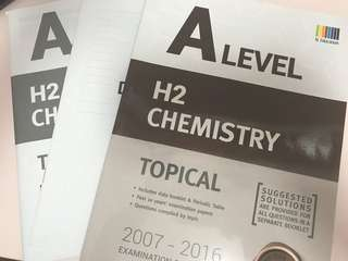 H2 Chemistry Topical TYS 2007-2016
