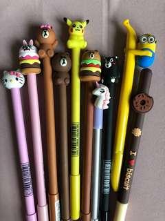 Brand New: Korean Stylish Cutie Kawaii Pens