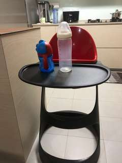 Bottle and baby chair for sale