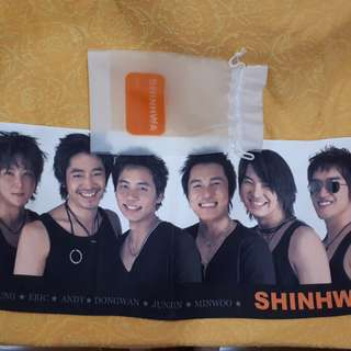 Shinhwa Towel Banner (official merchandise)