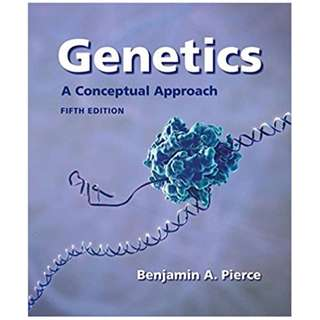 Genetics_A Conceptual Approach 5th Edition (E-Book)