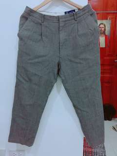 Highwaist Gray Trousers/Pants