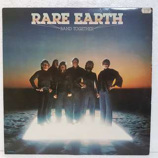 Rare Earth - Band Together Vinyl Record