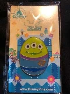 香港 迪士尼 徽章 Disney Pin  MA 花蛋 三眼仔