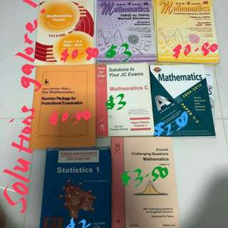 Cheap H2 mathematics materials guide revision