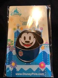 香港 迪士尼 徽章 Disney Pin  MA 花蛋 奧斯華