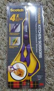 Titanium Kitchen  Scissors