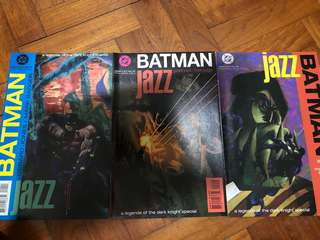 Batman Jazz Legends of the dark knight special volume 1-3 1995